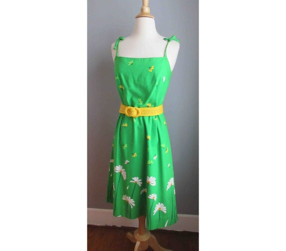 Late 60s-70s Malia of Honolulu Cotton Dress