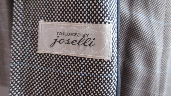 40s Joselli Plaid Skirt Suit - image 10