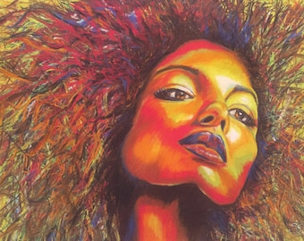 Afro Art Etsy