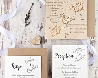 engraved invitation etsy
