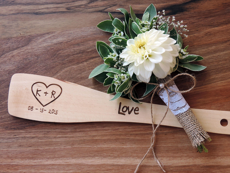 Wedding Favor Wooden Spatula Party Favor Bridal Shower Favor