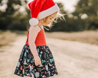 Girls Christmas Dress, Christmas Dress, Girls Dress, Girls Christmas Outfit, Family Matching Outfits, Sibling Outfits, Australian Gifts