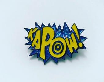 KaPow! Soft Enamel Pin