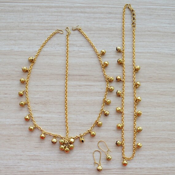 Simple Rajasthani Bollywood Traditional Indian Gold Plated Etsy