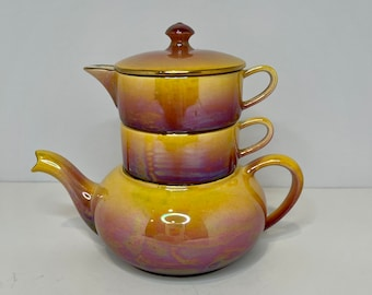 Made In England Teapot Creamer Open Sugar Bowl Canada and U.S. Royal Winton 50th Anniversary Teapot Creamer Open Sugar Bowl FREE SHIPPING