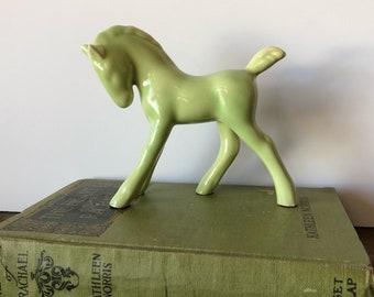 Vintage Ceramic Horse Figurine