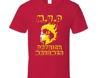 Patrick Mahomes Mvp Kansas City Chiefs Quarter Back T Shirt ffd6c11aa