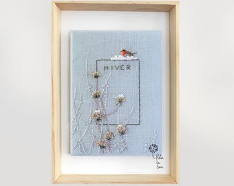 """""""Reflections"""" - Embroidery Kit """"REFLECTIONS"""" embroidery Kit"""