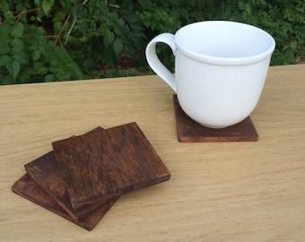 Wood Coasters - Plain