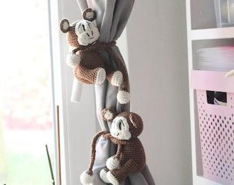 Crochet Monkey Etsy