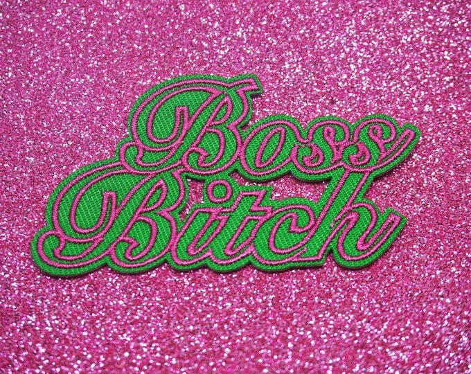 Boss Bitch Patch