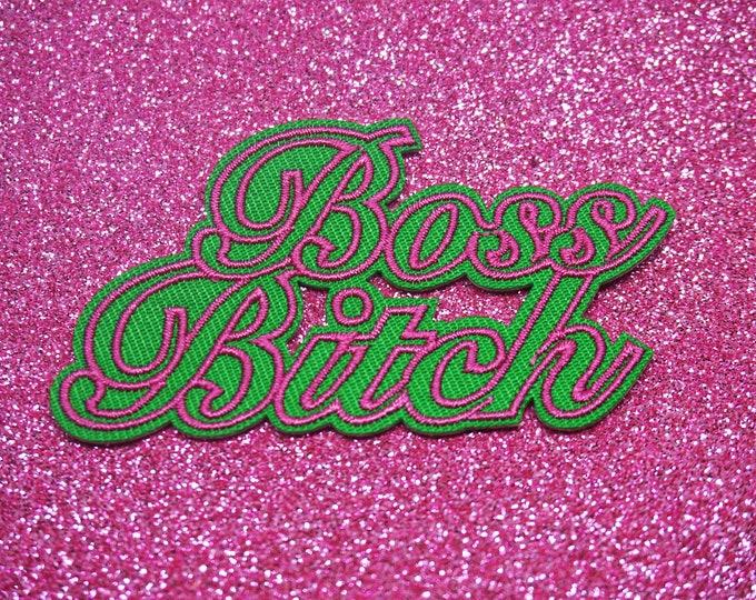 Boss Bitch Patch