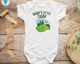 Baby Vest Daddys Little Dinosaur green