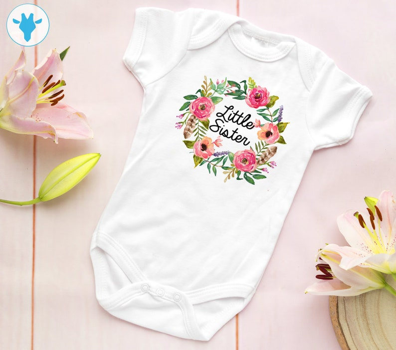 1c9b4bd22 Little Sister baby bodysuit Baby Girl Clothes Big Sister | Etsy