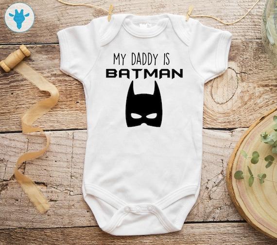 Batman funny babygrow onesie 6-12 months