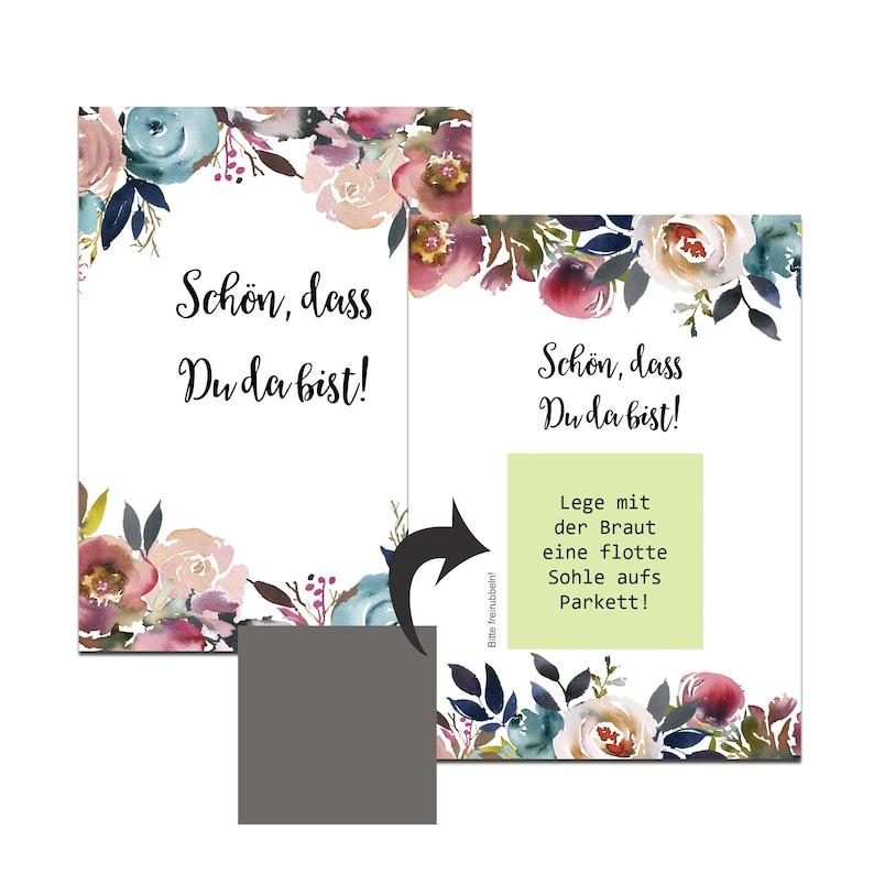 Rubbelkarten Hochzeit