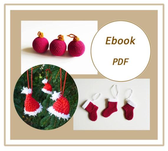 Häkelanleitung Weihnachten Ebook häkeln PDF crochet pattern | Etsy