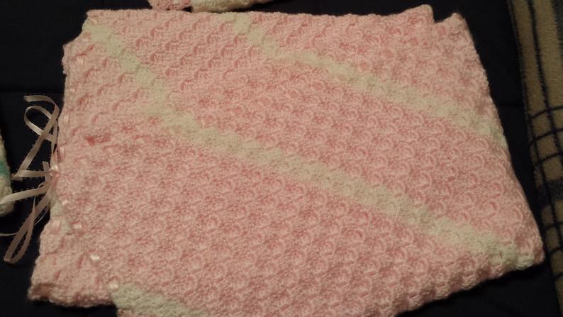 Homemade baby blanket afghans