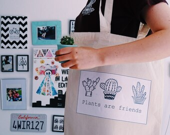 tote bag plants are friends