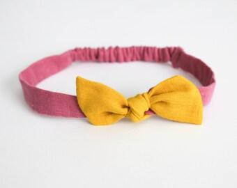 Headband // Raspberry Lemonade