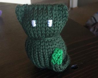 Green Cat Plushie