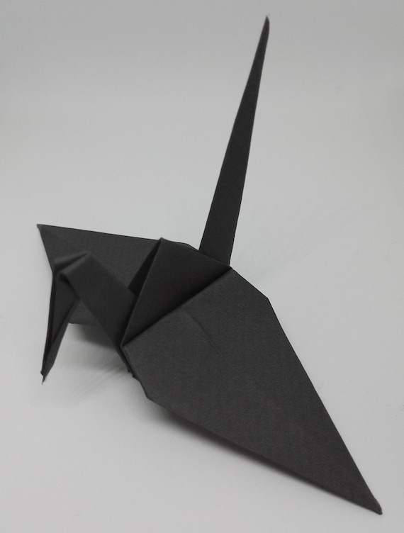20 Origami Crane Wedding Favors Coral