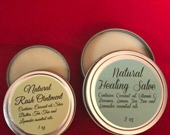 Rash Ointment/Healing Salve