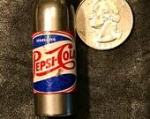 PEPSI COLA Double Dot figurative bottle cigarette Lighter.