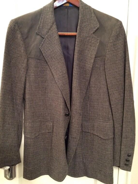 Vintage PENDELTON WOOL-SUEDE  Jacket Pristine