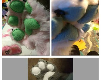 Custom Fursuit Paws**FREE SHIPPING**