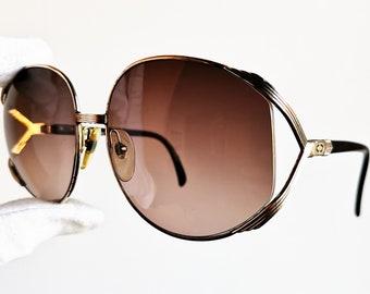 DIOR lunettes de soleil vintage rares rond oversize grand fabriqué en  Autriche diva Christian CD2250 cadre sans monture wrap retro collectable  nouvelles ... a8d6d7d93b34