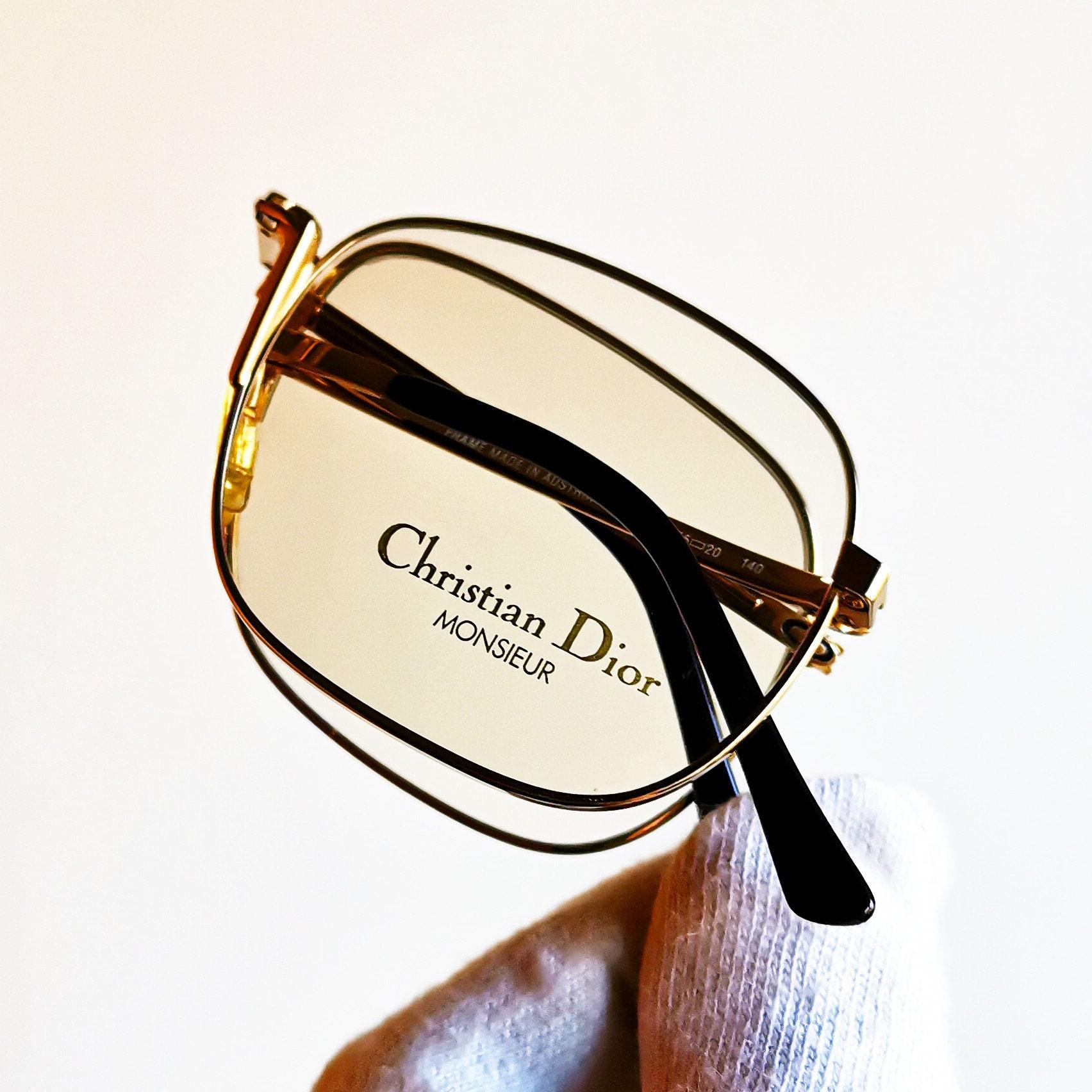 096b2a5cdf1a58 CHRISTIAN DIOR Monsieur vouwen Eyewear vintage brillen