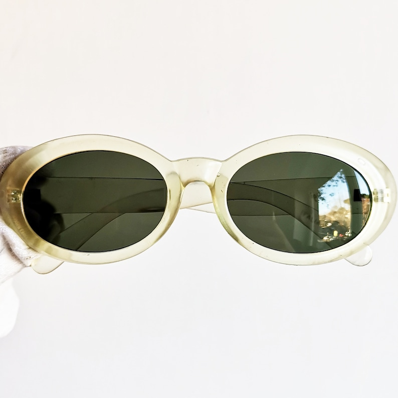 33242702346 Clear oval sunglasses vintage rare transparent PRADIGI clout