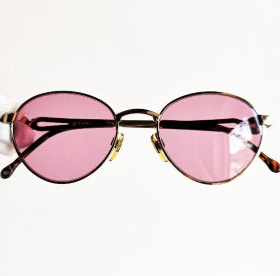 Oswald 90s Oval Goth Steampunk Sunglass with Floating Browline