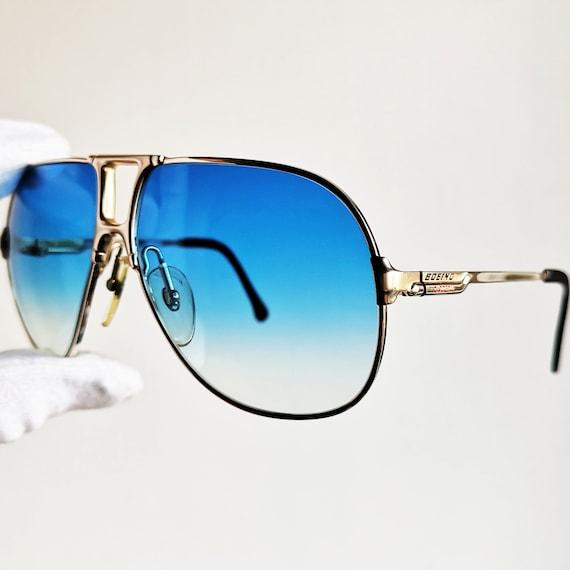 Laviateur rare vintage lunettes de soleil CARRERA BOEING or   Etsy 3f7aa01910b4