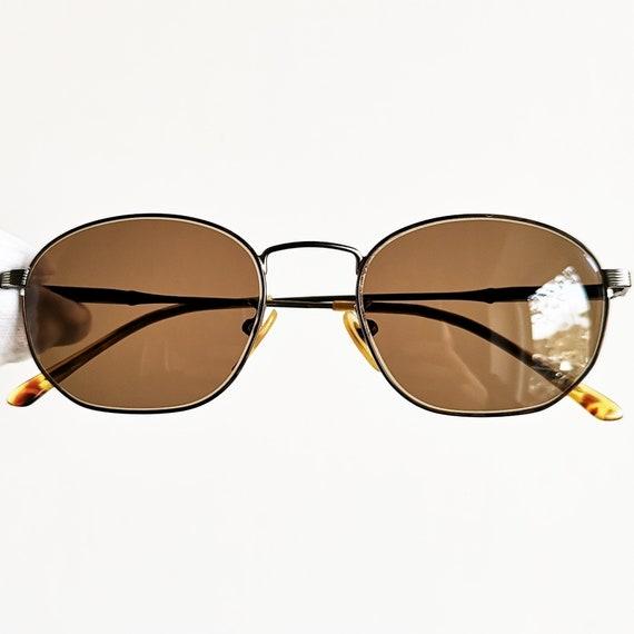 055d7cf519 RALPH LAUREN oval sunglasses vintage rare squared POLO frame