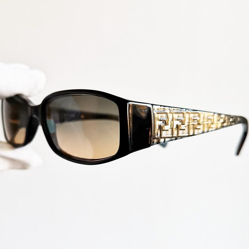 ac66117dcc Vintage FENDI occhiali da sole raro monogramma ovale | Etsy