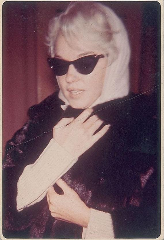 VERSACE vintage sunglasses rare cat eye wrap wing… - image 6