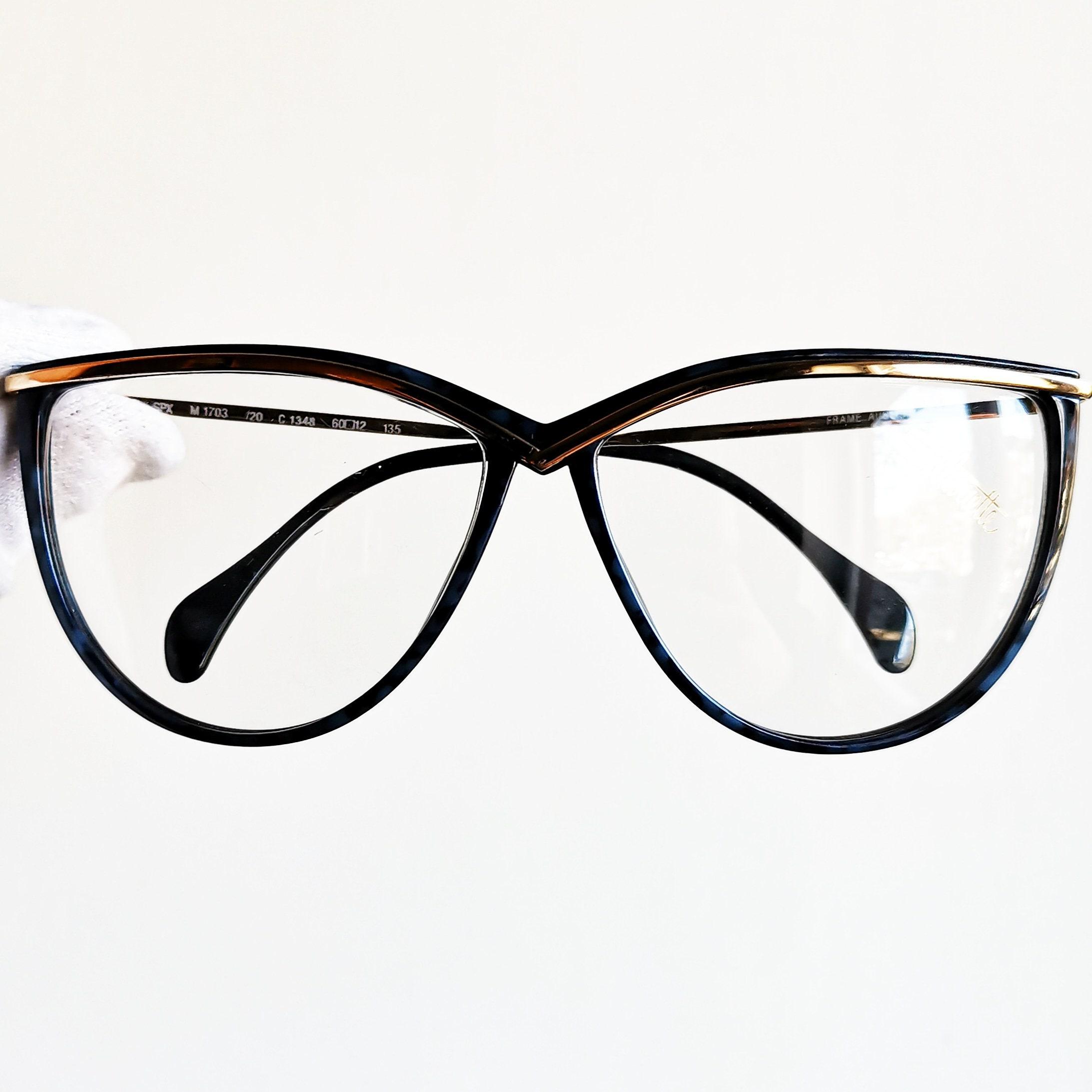 78edf92ee121 SILHOUETTE vintage eyeglasses rare eyewear oversize big blue