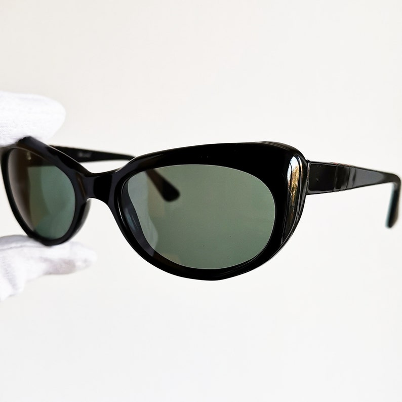 b529aae9b9 PERSOL RATTI vintage SUNGLASSES rare oval retro cat eye woman