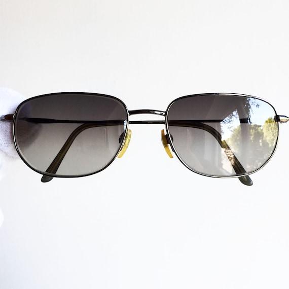 BULGARI vintage lunettes de soleil rare forme ovale carré   Etsy 28b5beaa2cc2