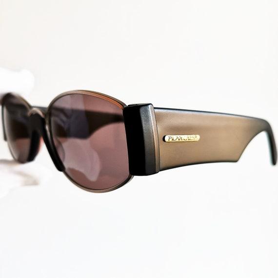 b7ae3442494 PILAR CRESPI oval Sunglasses vintage rare frances moda made in