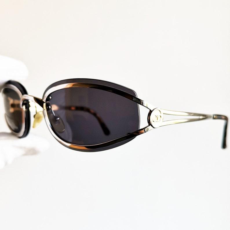 ce36b7bcfe DIOR vintage Sunglasses rare oval small made in Austria diva
