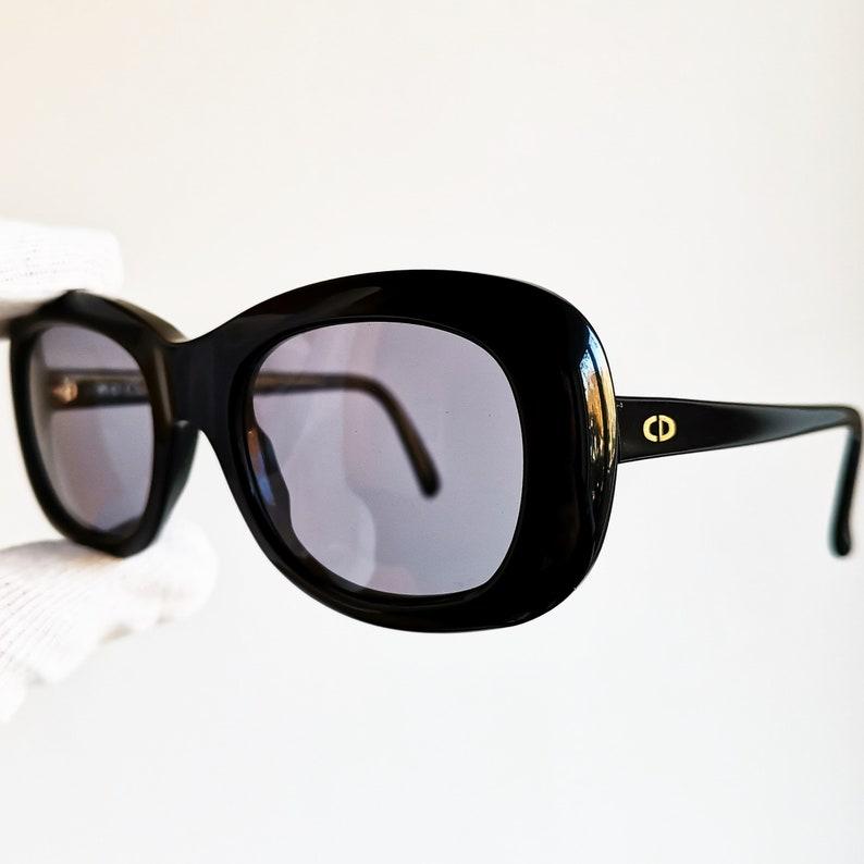 693e27a3c1 DIOR vintage SUNGLASSES rare black supreme spectacle round