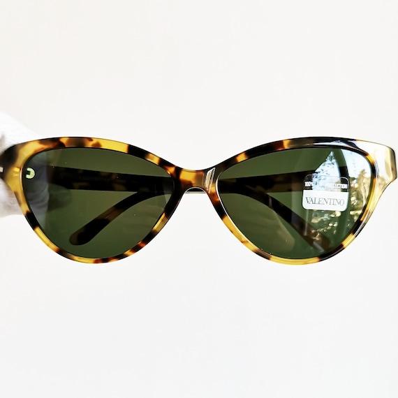 Cateye Valentino Sole Da Vintage Occhiali Tartaruga Ovale Rara Etsy UW4r4In