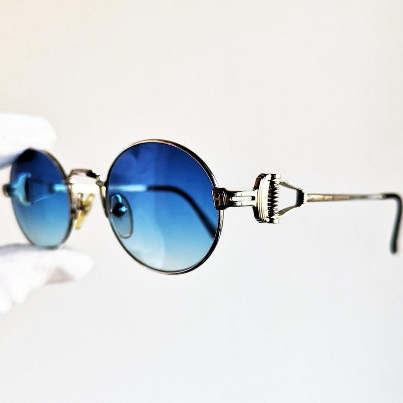 27554994c JEAN PAUL GAULTIER vintage Sunglasses Jpg rare round oval | Etsy