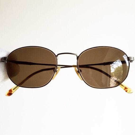 Vintage dovale lunettes de soleil RALPH LAUREN rare carré   Etsy 04ac078cb373