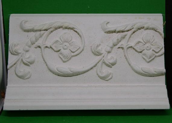 Tree ring fleur de lis mold plaster concrete casting mould