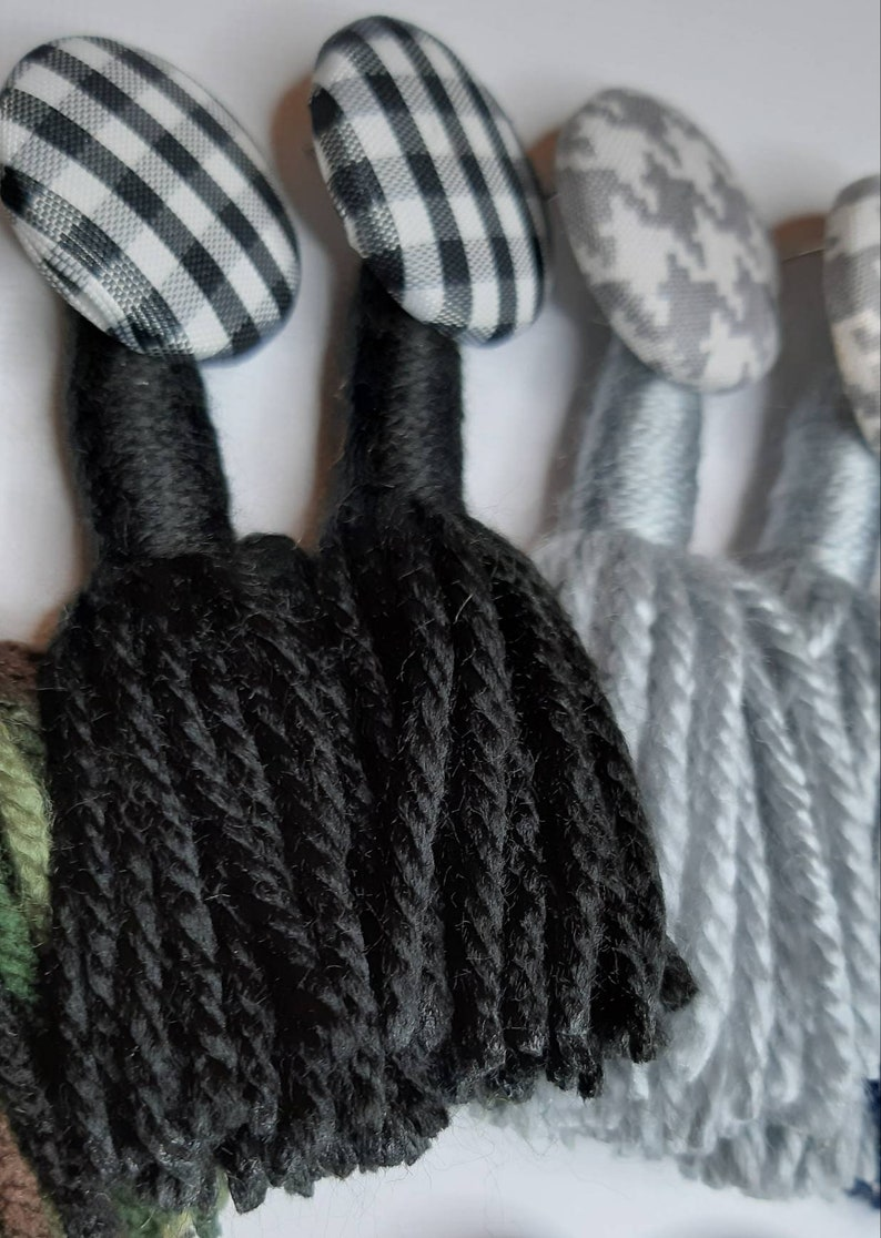 Buttons and Yarn