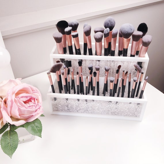 2 Tier Makeup Brush Holder Etsy